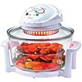 Rosewill R-HCO-15001 Infrared Halogen Convection Oven with Stainless Steel Extender Ring, 12.6-18 Quart, Healthy Low Fat Cooking
