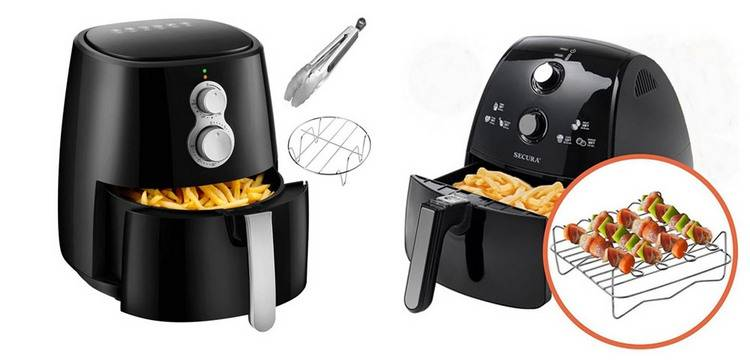 Air Fryers include a grill feature