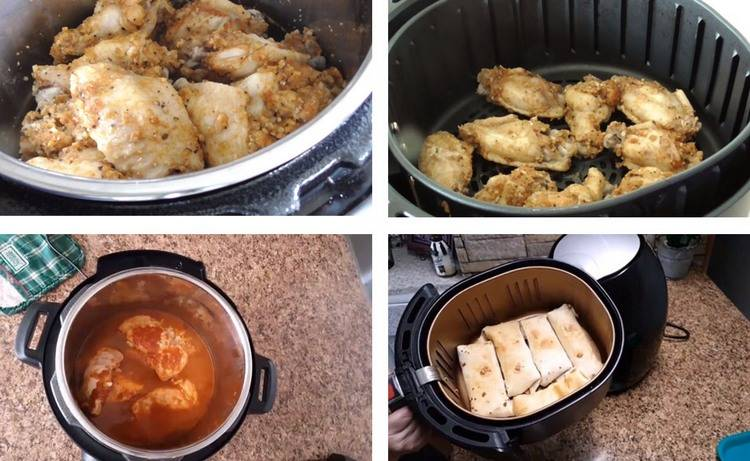 Instant Pot and Air fryer helping you cook a great meal