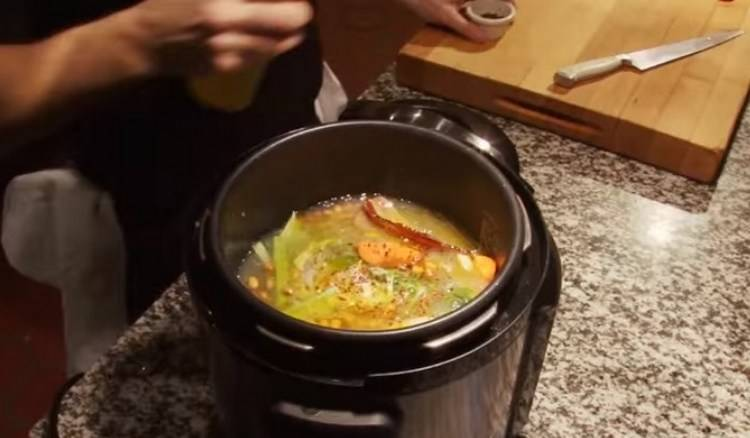The Pressure Cooker can cook larger quantities