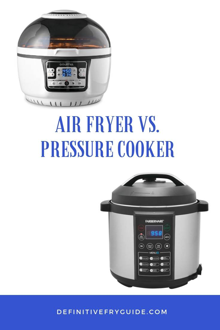 Pressure Cooker VS. Air Fryer