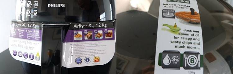 Air Fryer features more versatility than ActiFry
