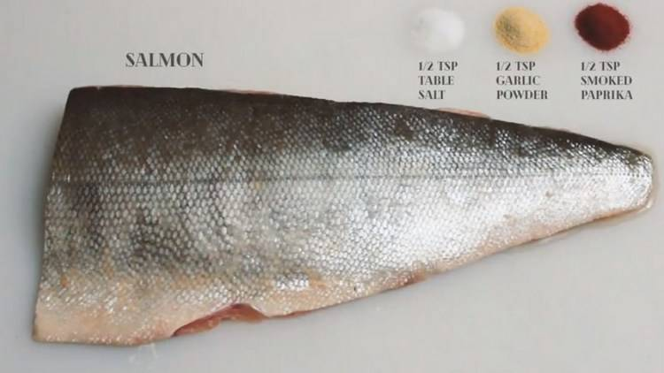 Сhefs recommend using fresh salmon
