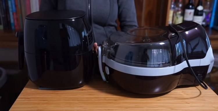 ActiFry is larger than Air Fryer
