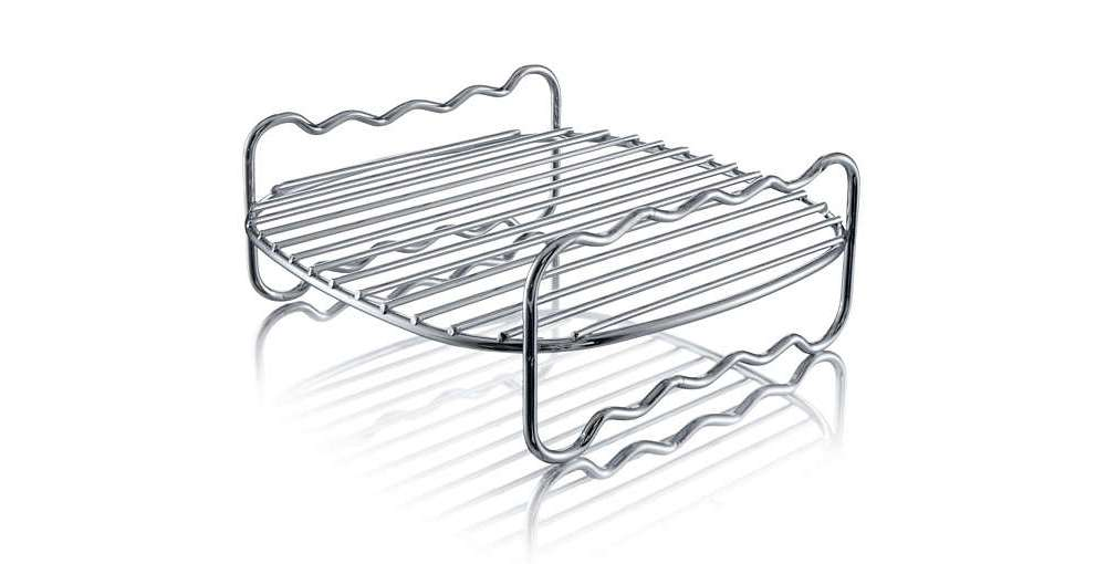 Philips HD9230 also comes with a double layer frying rack